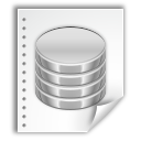 database, document, file icon