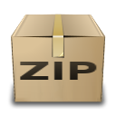 box, compressed, zip icon