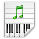 audio, midi icon