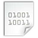 binary, executable, fs, gnome icon