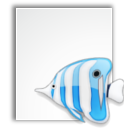 bluefish, mime, project icon