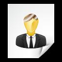 file, user icon