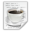 java, text, x icon