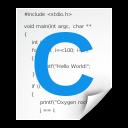 objcsrc, text, x icon
