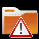alert, folder, important icon