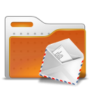 envelope, folder, mail icon