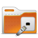 folder, network, remote icon