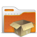 box, folder icon