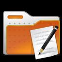 folder, write, paper