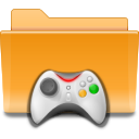 folder, games, kde icon