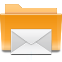 folder, kde, mail icon