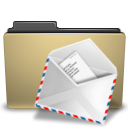folder, mail, manilla icon
