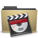 folder, manilla, video icon