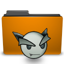 deviantart, folder, orange icon