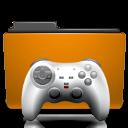 orange, folder, games