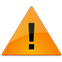 dialog, warning icon