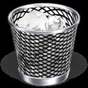 trash can, full, recycle bin