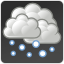 snow, weather icon