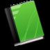 book, green icon