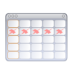 and, calendar, tasks icon