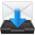 email, envelope, import, inbox, mail icon