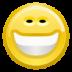big, face, smile icon