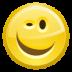 face, smirk icon
