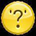 face, uncertain icon