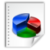 chart, document, file icon