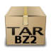 bzip, compressed, mime, tar icon