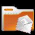 envelope, folder, mail icon