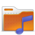 folder, music, sound icon