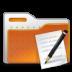 folder, paper, write icon