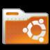 folder, human, ubuntu icon