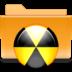 burn, folder, kde icon