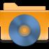 cd, folder, kde icon