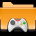 folder, games, kde icon