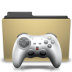 folder, games, manilla icon