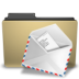 folder, mail, manilla icon