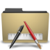 folder, manilla, txt icon