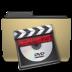 folder, manilla, video icon