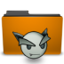 deviantart, folder, orange icon