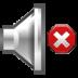 audio, muted, volume icon