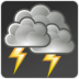 storm, weather icon