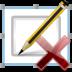 delete, pen, signature icon