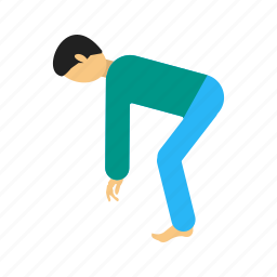exercise, fitness, sport, sports, stretching, training icon
