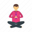 exercise, health, lifestyle, pose, relaxation, slim, yoga icon