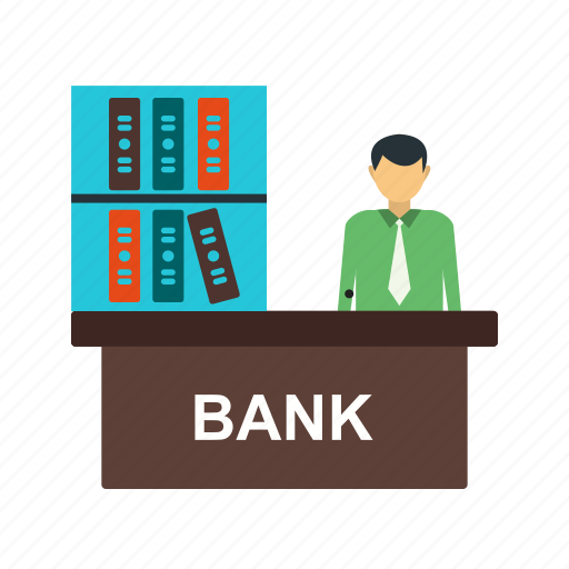 banker, businessman, legal, loan, mortgage, people icon