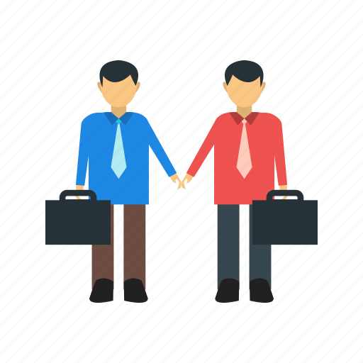 business, meeting, partnership, people, teamwork, trust, working icon
