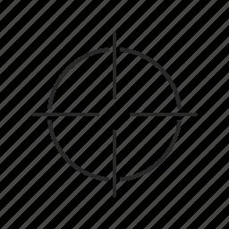 aim, arrow, hunting, shot, target icon